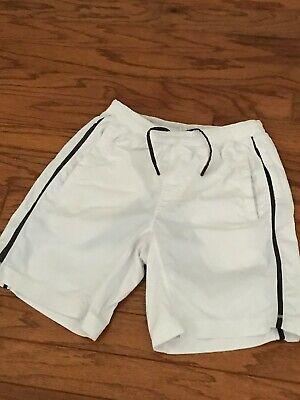 "Lululemon Men's Pace Breaker Shorts 9"" Lined Color White Size Medium Pre-owned"