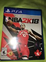 Selling nba 2k18, 50$, mint condition