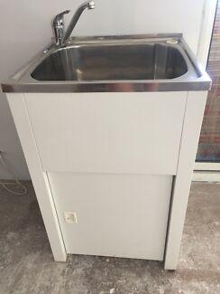 Laundry tub & Tap