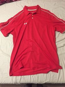 Large Underarmour Golf Shirt