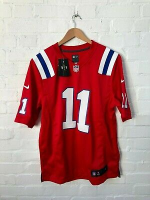 Nike New England Patriots NFL Men's Alternate Jersey - Medium - Edelman 11 - NWD