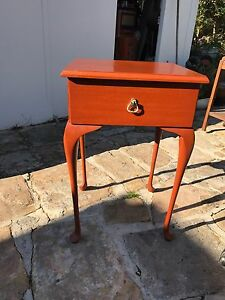 URGENT SALE - Queen Anne Style Bedside Table with Drawer Lane Cove Lane Cove Area Preview