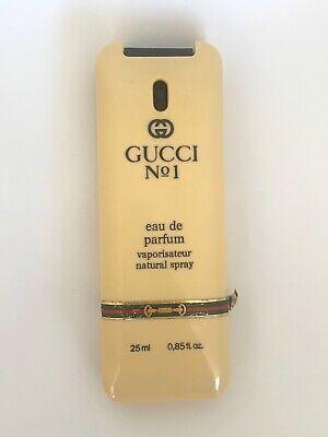 GUCCI No. 1 Perfume Eau de Parfum 25ml VINTAGE STOCK 1980s