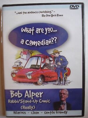 What Are You, a Comedian??  Rabbi & Stand-Up Comic Bob Alper DVD Clean Hilarious