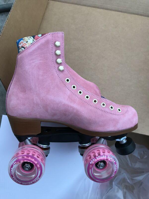 Moxi Lolly Strawberry Roller Skates Size 7 ( W 7.5 - 8.5 ) - READY TO SHIP!