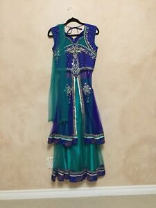 Indian party lacha dress