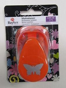 Rayher Motivlocher, Motivstanzer Schmetterling 2,54 cm