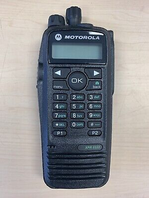 New Motorola Mototrbo Xpr6550 Uhf 403-470 Mhz Two Way Radio Antenna
