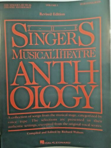 """The Singers Musical Theatre Anthology"" Volume 1, for Baritone/Bass Voice"