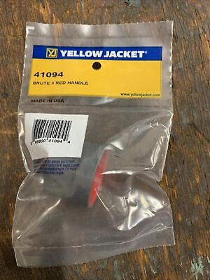 Yellow Jacket Brute Ii Manifold Replacement Red Handle Wscrew 41094