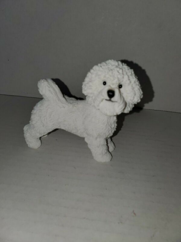 Bishon Frise Resin Figurine