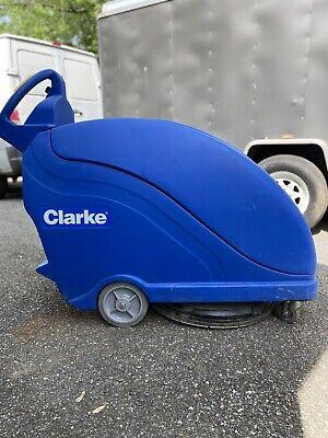 Clarke Fusion 20t Power Traverse Walk Behind Floor Burnisher Polisher 15hrs