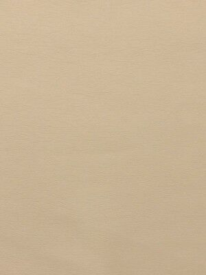ULTRALEATHER MILKWEED BEIGE FAUX LEATHER PLEATHER AUTO YACHT RV FABRIC BY YARD