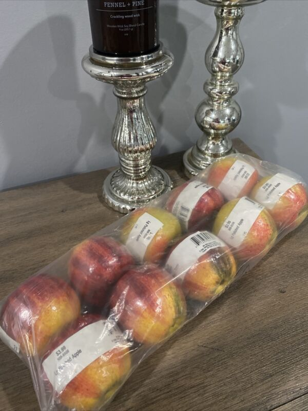 Large Polished Artificial Apples 10
