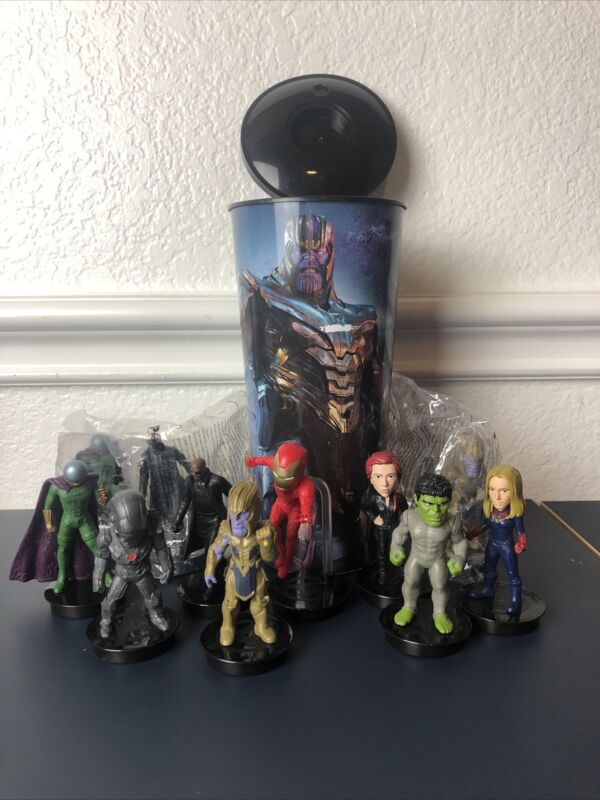 Avengers Endgame Cup With Toppers