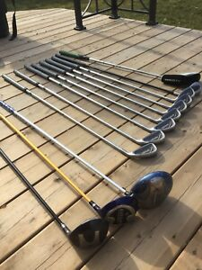 ENTIRE GOLF CLUB PKG!.