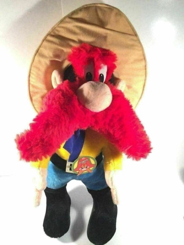 Yosemite Sam Vintage Mighty Star Plush Warner Bros Special Effects Character