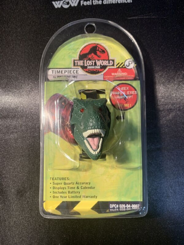 JURASSIC PARK:THE LOST WORLD-TIMEPIECE BRAND NEW SEALED!!