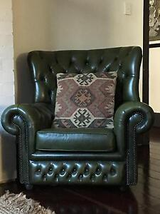 2 Chesterfield Armchairs Dulwich Burnside Area Preview