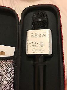 Micgeek Q9 portable karaoke microphone West Melbourne Melbourne City Preview