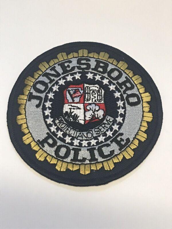 Jonesboro Arkansas Police Dept Shoulder Patch