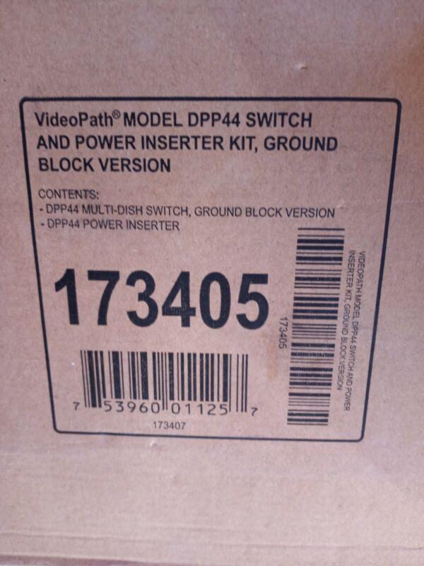 VideoPath Model DPP44 Switch and Power Inserter Kit, Ground Block Version 173405