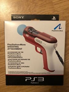 OFFICIAL SONY PLAYSTATION MOVE SHOOTING (GUN) CONTROLLER ATTACHMENT PS3 PS4
