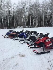 Willing to buy Yamaha sleds if price is right
