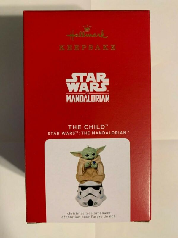 2021 Hallmark Keepsake Ornament Star Wars Mandalorian (The Child)