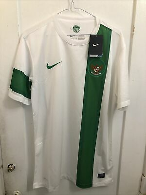 NWT Nike Indonesia Bhinneka Tunggal Ika Away Soccer Jersey 2012  Size Large image