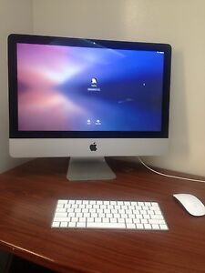 "iMac 21.5"" LED 2.8GHz quad core i5 8gb ram"