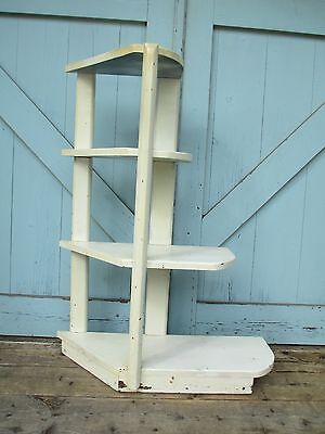 ART DECO display SHELF unusual DELIVERY AVAILABLE Shelf country Shabby Cottage