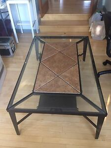Coffe Table, Sofa Table, 2 End Tables, 2 Lamps