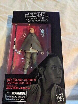 "Star Wars | Black Series | Rey (Island Journey) 6"" Action Figure"