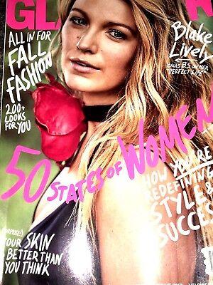 GLAMOUR MAGAZINE September 2017 BLAKE LIVELY CALLS B.S. ON PERFECT LIFE Fashion