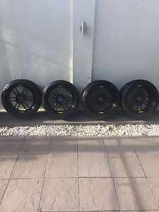 Enkei RPF1 wheels/tyres 5x114.3 Panorama Mitcham Area Preview