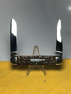 RARE VINTAGE PRE WW2 REMINGTON BULLET USA R-4353 POCKET KNIFE GOOD HANDLES 1920s