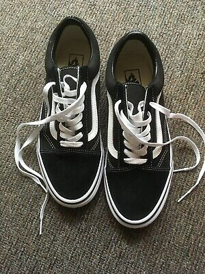 Vans Old Skool Black / White 8.5