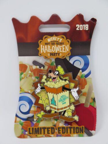 Mickeys Not so scary Halloween Party Pin LE Goofy WDW Popcorn Disney Parks Spin