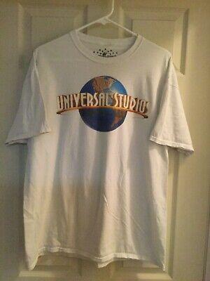 UNIVERSAL STUDIOS Hollywood Theme Park White T-shirt Size - Theme Hollywood