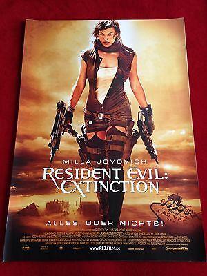 Resident Evil Extinction Kinoplakat Poster A1, Milla Jovovich
