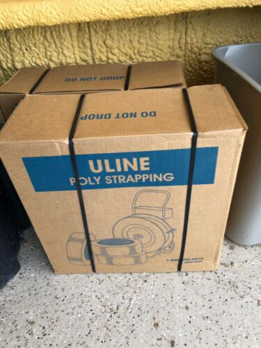 "Uline Poly Strapping - 1⁄2"" x .024"" x 7,200"