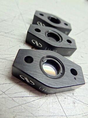 Lot Of 3 Newport Nrc Lh-50 .5 Fixed Optical Lens Mounts