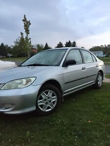 2005 Honda Civic special edition only 170000km no rust