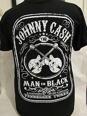 Johnny Cash The Man In Black Punk Rock Alternative T Shirt