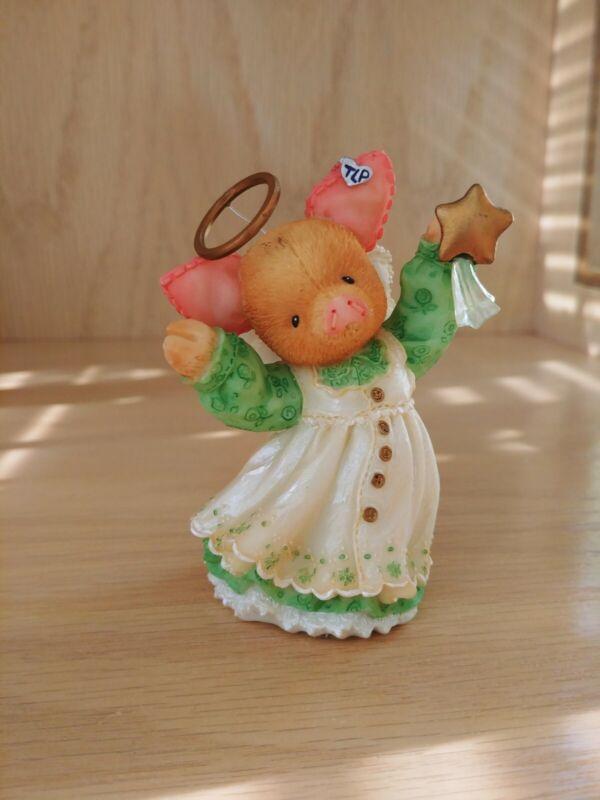 "This Little Piggy Figurine ""Sow Joyful"" Enesco 1998"