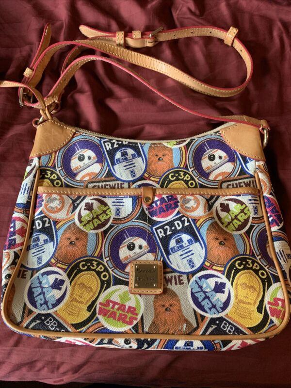 Disney Dooney & Bourke Star Wars 2017 Half Marathon Kimberly Crossbody Bag