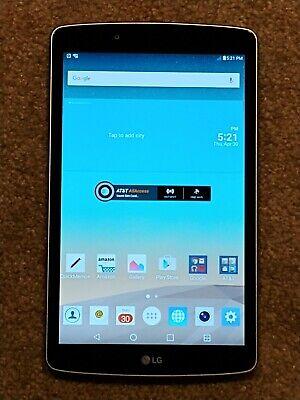***LG G Pad F 8.0 V495 16GB AT&T 4G LTE  Wi-Fi Android Tablet Silver***LOOK***