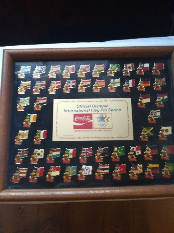 1984 Coca-Cola Olympic Pin Set