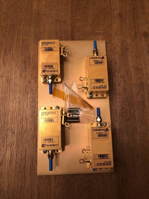 4x Coherent FAP800-40W-800 Fiber-Coupled Diode Laser